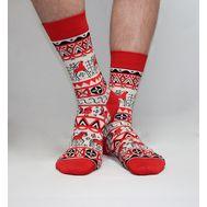 Дизайнерские носки SOXESS в русском стиле Мезень