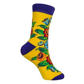 Дизайнерские носки SOXESS в русском стиле Городец (короткие) [CLONE] [CLONE]