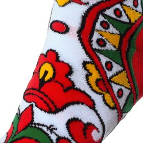 DESIGNER SOXESS SOCKS IN RUSSIAN NORTHERN DVINA RIVER STYLE