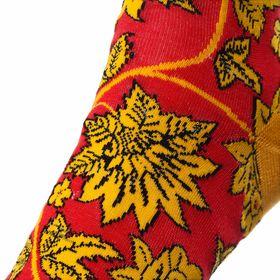 Дизайнерские носки SOXESS в русском стиле Хохлома