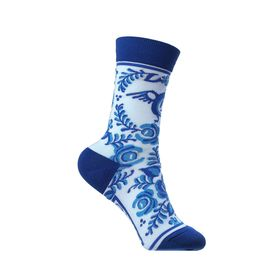 DESIGNER SOXESS SOCKS IN RUSSIAN GZEL STYLE