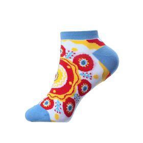 Дизайнерские носки SOXESS в русском стиле Дымковская игрушка (короткие)